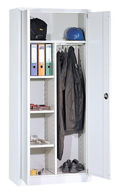 197sch armoire d 39 atelier 195x92x50cm 2e hands en nieuw kantoormeubilair. Black Bedroom Furniture Sets. Home Design Ideas