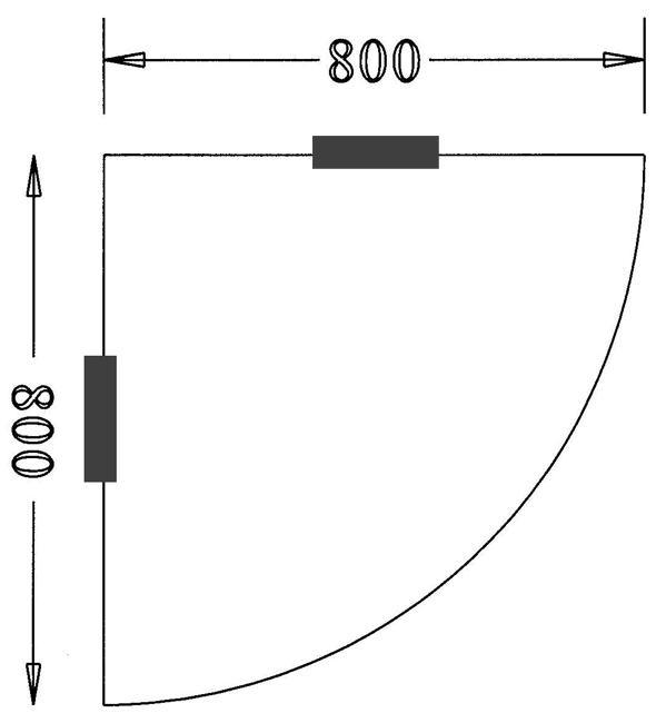 DT090 Plateau d angle libre 90 degrés Double-T - 2e hands en nieuw ...