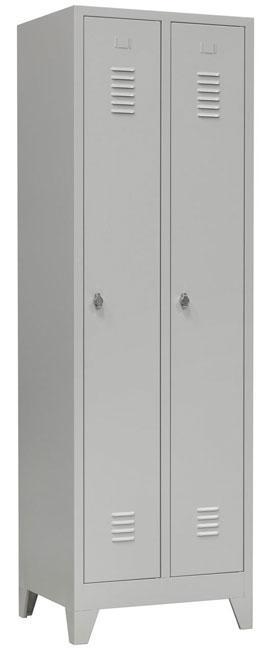be182 armoire vestiaire 2 portes 190x60x50 cm 2e. Black Bedroom Furniture Sets. Home Design Ideas